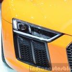 2016 Audi R8 V10 Plus headlight at 2015 Geneva Motor Show