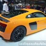 2016 Audi R8 V10 Plus rear three quarter view at 2015 Geneva Motor Show