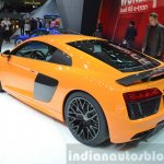 2016 Audi R8 V10 Plus rear three quarter(2) view at 2015 Geneva Motor Show