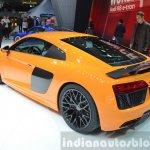 2016 Audi R8 V10 Plus rear three quarter(2) view at 2015 Geneva Motor Show