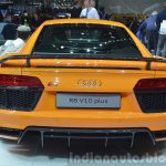2016 Audi R8 V10 Plus rear view at 2015 Geneva Motor Show