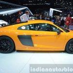 2016 Audi R8 V10 Plus side view at 2015 Geneva Motor Show