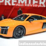 2016 Audi R8 V10 Plus side(3) view at 2015 Geneva Motor Show