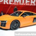 2016 Audi R8 V10 Plus side(3) view at 2015 Geneva Motor Show