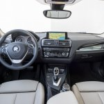 2016 BMW 1 Series dashboard (facelifted)