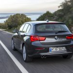 2016 BMW 1 Series rear (facelifted)