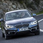 2016 BMW 1 Series front three quarters (facelifted)
