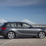 2016 BMW 1 Series side view (facelifted)