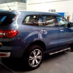 2016 Ford Endeavour 3.2L rear spied