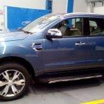 2016 Ford Endeavour 3.2L side spied