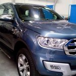 2016 Ford Endeavour 3.2L spied