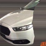 2016 Ford Mondeo (facelift) front spyshot