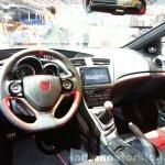 2016 Honda Civic Type R dashboard at the 2015 Geneva Motor Show