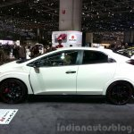 2016 Honda Civic Type R side at the 2015 Geneva Motor Show