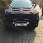 2016 Hyundai Santa Fe front (facelift) spied in Korea
