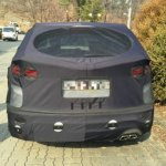 2016 Hyundai Santa Fe rear (facelift) spied in Korea