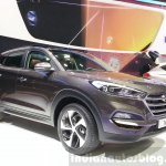 2016 Hyundai Tucson front three quarter view at the 2015 Geneva Motor Show