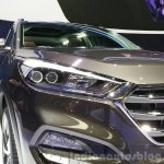 2016 Hyundai Tucson headlight at the 2015 Geneva Motor Show