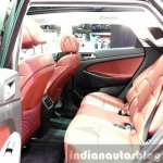 2016 Hyundai Tucson rear seat at the 2015 Geneva Motor Show