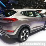 2016 Hyundai Tucson rear three quarter view at the 2015 Geneva Motor Show