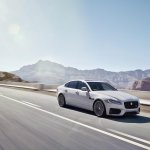 2016 Jaguar XF driving shot official image