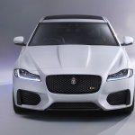 2016 Jaguar XF front fascia zoom-in