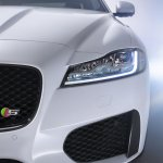 2016 Jaguar XF full LED headlamp official image