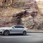 2016 Jaguar XF in motion official image