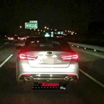 2016 Kia Optima spy shot rear