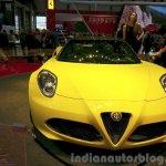 Alfa Romeo 4C Spider front at the 2015 Geneva Motor Show