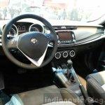 Alfa Romeo Giuletta Collezione dashboard at the 2015 Geneva Motor Show