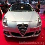 Alfa Romeo Giuletta Collezione front at the 2015 Geneva Motor Show