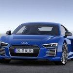 Audi R8 e-tron 2.0 front three quarters