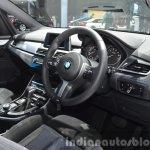 BMW 2 Series Active Tourer dashboard at the 2015 Bangkok Motor Show
