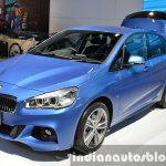 BMW 2 Series Active Tourer front three quarter right at the 2015 Bangkok Motor Show