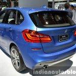 BMW 2 Series Active Tourer rear three quarter at the 2015 Bangkok Motor Show