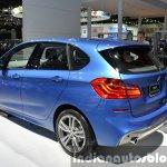 BMW 2 Series Active Tourer rear three quarter view at the 2015 Bangkok Motor Show