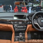 BMW X6 dashboard at the 2015 Bangkok Motor Show