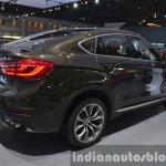 BMW X6 rear three quarter view at the 2015 Bangkok Motor Show