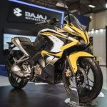 Bajaj Pulsar 200SS at the Eurasia Moto Bike Expo 2015