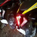 Bajaj Pulsar RS200 ABS LED taillights