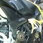 Bajaj Pulsar RS200 ABS engine