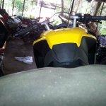 Bajaj Pulsar RS200 ABS seat