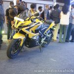 Bajaj Pulsar RS200 Yellow at Launch