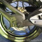 Bajaj Pulsar RS200 Yellow disc brake at Launch