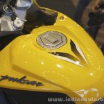 Bajaj Pulsar RS200 Yellow fuel tank graphics at Launch