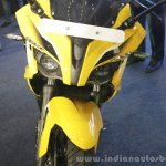 Bajaj Pulsar RS200 Yellow headlamp at Launch