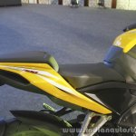 Bajaj Pulsar RS200 Yellow seat at Launch