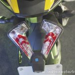 Bajaj Pulsar RS200 Yellow taillight at Launch