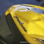 Bajaj Pulsar RS200 Yellow tank at Launch